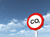 CO2 - Carbon Dioxide — Stock Photo