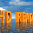 Stock fotografie: HD READY