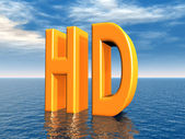HD - High Definition — Stock fotografie
