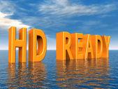 HD READY — Stock Photo