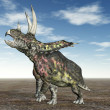 Dinosaur Pentaceratops — Stock Photo