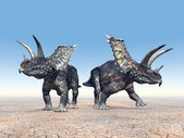 Dinosaur Pentaceratops — Stock Photo