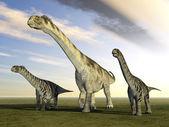 Dinosaur Camarasaurus — Stock Photo