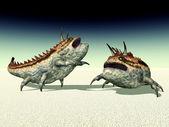 Чужеродных существ — Стоковое фото