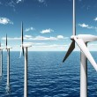 Постер, плакат: Offshore Wind Farm