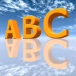 The letters ABC — Photo
