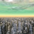 Megacity — Stock Photo