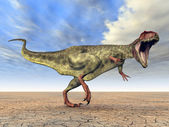 Dinosaur Giganotosaurus — Stock Photo