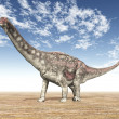 Dinosaur Diamantinasaurus — Stock Photo