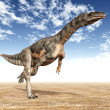Dinosaur Plateosaurus — Stock Photo