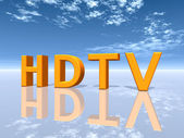 HDTV — Stock Photo
