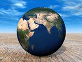 Världen av jorden — Stockfoto