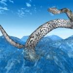 Постер, плакат: Giant Water Snakes
