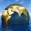 Stock Photo: Globe of Earth