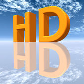 HD - High Definition — Zdjęcie stockowe