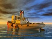 Coast Guard Tug — Stock Photo