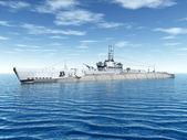 潜艇 uss 触发器 — 图库照片