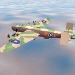 Постер, плакат: Heavy Bomber Halifax