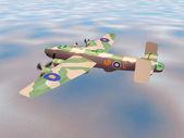 Heavy Bomber Halifax — Stock Photo