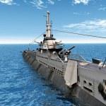 Submarine USS Trigger — Stock Photo #47711039