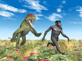 Homo Habilis - Human Evolution — Stock Photo