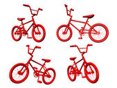 Red Bicycles — Stock Photo