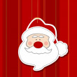 Santa Decal - Stock Photo