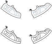 Koşu ayakkabıları — Stok fotoğraf