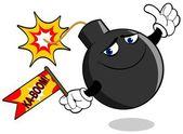 Dynamite Ball — Stock Vector