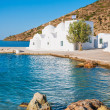 Chapel on Sifnos by the sea — Stock Photo