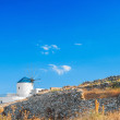 Windmill in Sifnos - Stock Photo