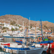 The port of Hydra, Greece — Stock Photo