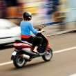Riding a scooter — Stock Photo #3403910
