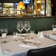 Typical France brasserie — Stock Photo #12380966