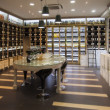 Stock Photo: Modern wine shop
