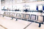 Sala d'attesa in aeroporto — Foto Stock