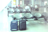 Baggage in airport — Stock Photo