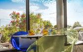 ガーデン レストラン — ストック写真