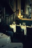 Restaurante de noche — Foto de Stock