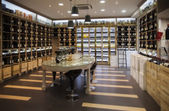 Modern wine shop — Stock Photo