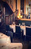 вечерний ресторан — Стоковое фото