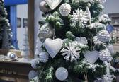 首页的圣诞树 — 图库照片