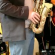 Stock Video: Live jazz band