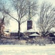 Winter dutch village — Stock Photo #14484093