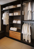 Dress closet — Stock Photo