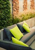 Garten platz — Stockfoto