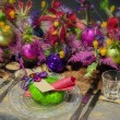 Party table — Stock Photo #15450735