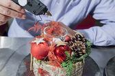 Hobby florist — Stockfoto