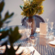 Party table — Stock Photo #16819821