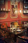 Tea time in restaurant — Stock Photo